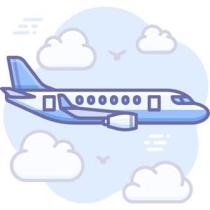 Flygresor symbol