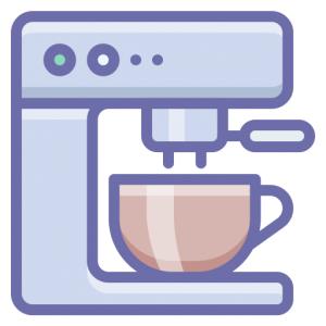 Kaffemaskin symbol