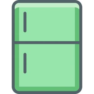 Kylskåp symbol