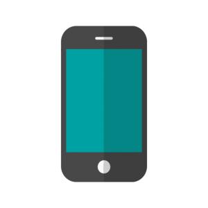 Mobiltelefon symbol