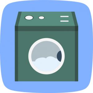 Tvättmaskin symbol